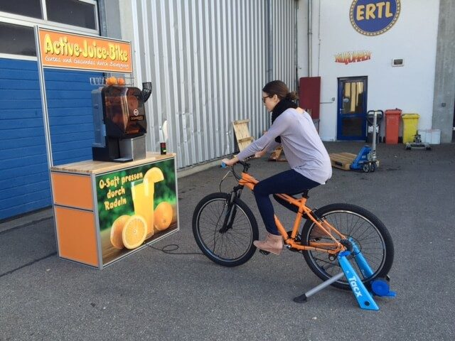 """Active Juice Bike"" Vermietung"