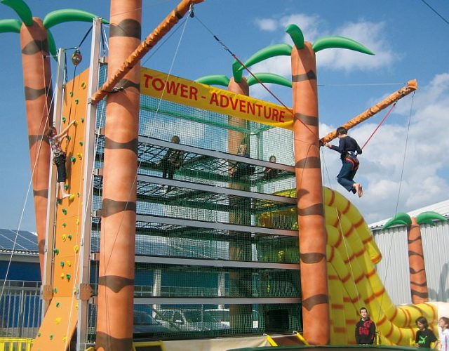 "Kletterturm ""Tower Adventure"" mieten"